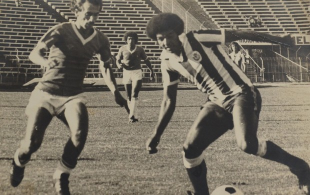 Edmilson Santos no tempo de jogador (Foto: Arquivo pessoal)