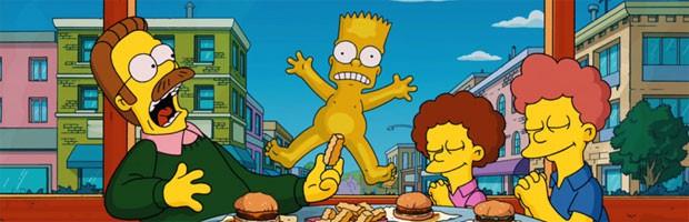 Bart Simpson em cena de 'Os Simpsons: O filme' (2007) (Foto: Divulgação)