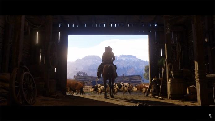 Red Dead Redemption 2 exibe belos gráficos para o velho oeste no PlayStation 4 e Xbox One (Foto: Reprodução/YouTube)