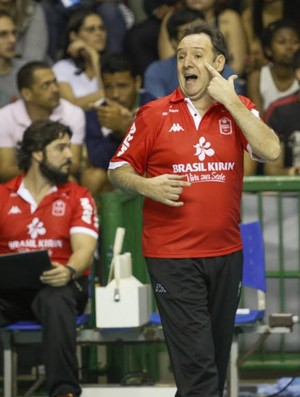 Horácio Dileo, técnico Campinas (Foto: Gabriela Inamine / Vôlei Brasil Kirin)