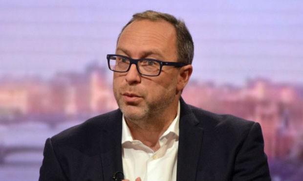 Jimmy Wales, cofundador da enciclopédia virtual Wikipédia (Foto: BBC)