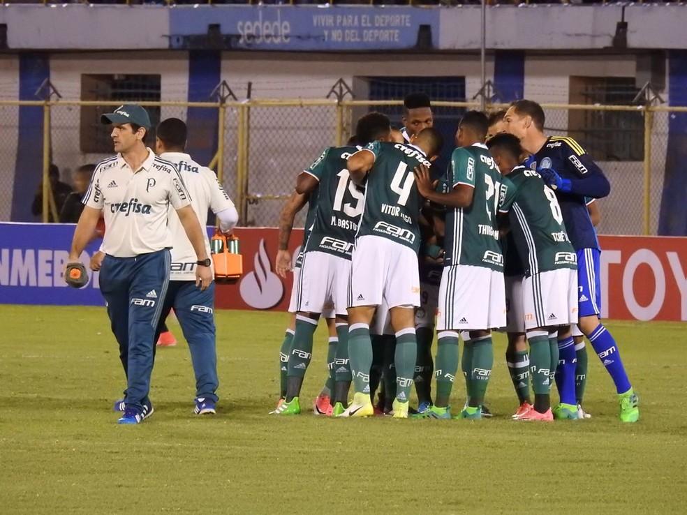 Palmeiras foi derrotado pelo Jorge Wilstermann, na Bolívia, na última quarta-feira (Foto: Tossiro Neto)