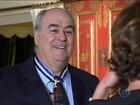 Roberto Irineu Marinho recebe a Ordem do Infante Dom Henrique