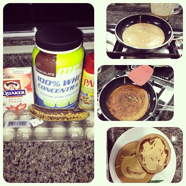 Café da manhã de Gracyanne Barbosa (Foto: Instagram/ Reprodução)