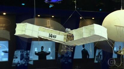 Museu do Amanhã recebe exposição sobre a vida de Santos Dumont