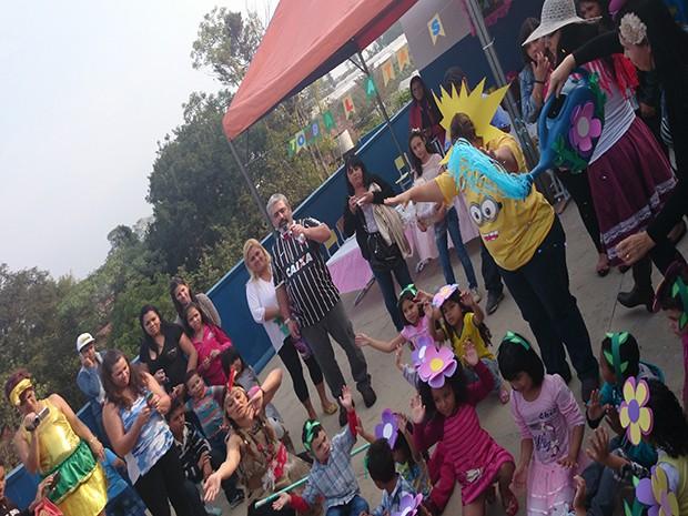 Crianças vão apresentar diversas danças típicas do Brasil. (Foto: Maria Borges/Centro Municipal de Educação Infantil)