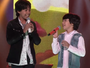 Amigos e familiares de Enzo e Eder se reúnem para torcer pela dupla na semifinal do The Voice Kids