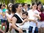 Campus Unifor recebe famílias em evento pró-amamentação