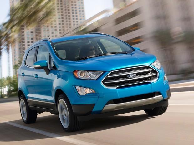 Ford EcoSport reestilizado (Foto: Divulgação)