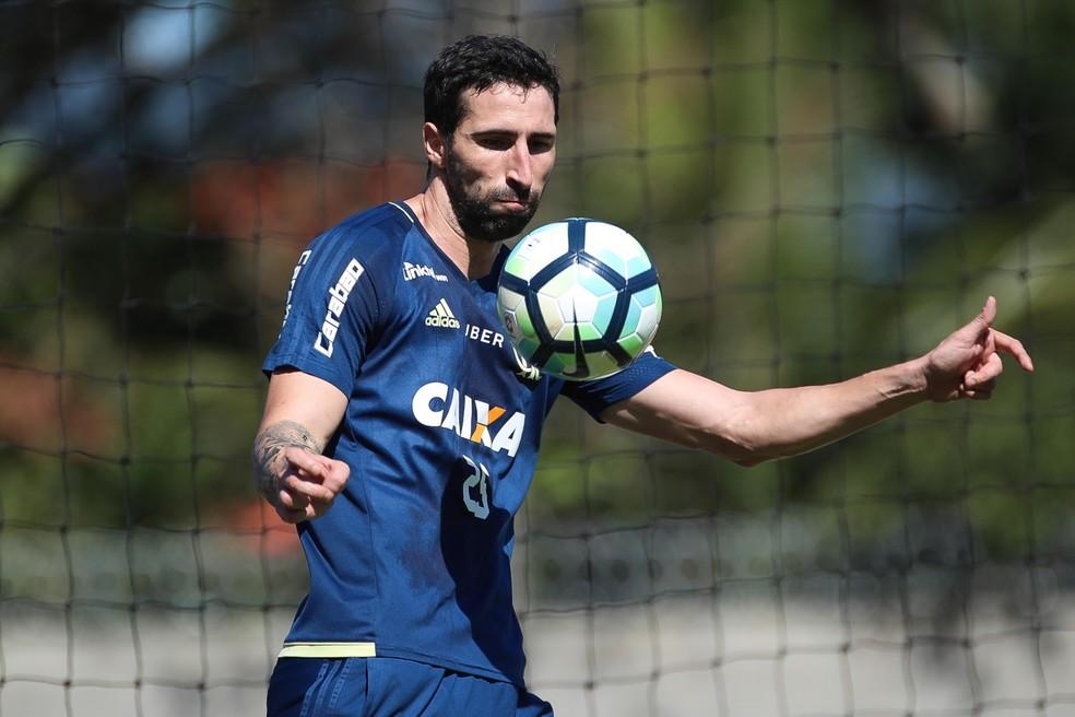 Donatti está negociando e deve deixar o Flamengo para atuar no futebol mexicano (Foto: Gilvan de Souza / Flamengo)
