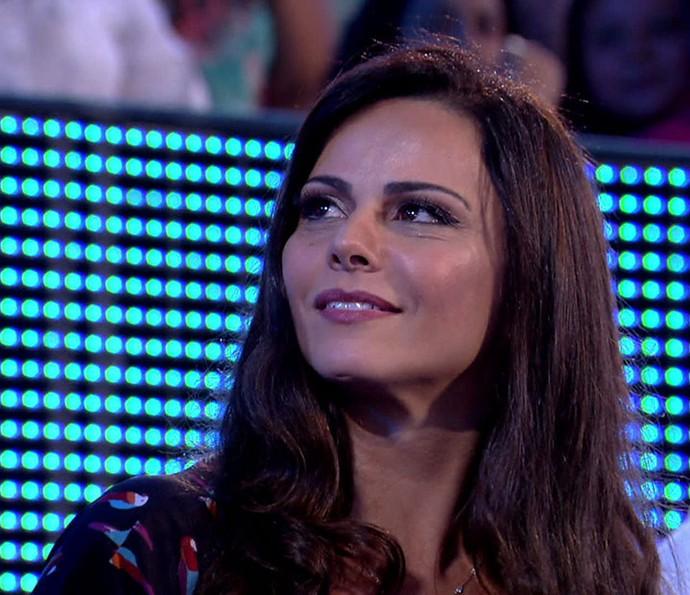 Beleza de Viviane Araújo chama atenção dos fãs do 'Saltibum' (Foto: Globo)
