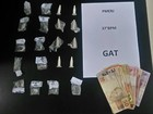 Após falar que dinheiro era da mãe, jovem é preso por tráfico em Resende