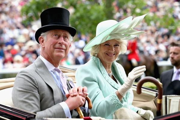 O Príncipe Charles e Camilla Parker Boyles (Foto: Getty Images)