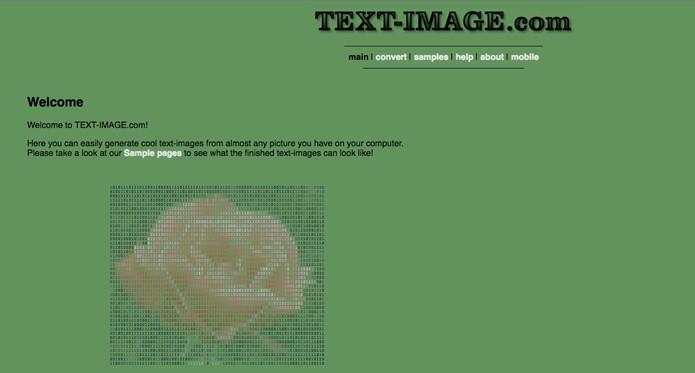 Text-Image com opções de apps para iOS e Android (Foto: Reprodução/André Sugai)