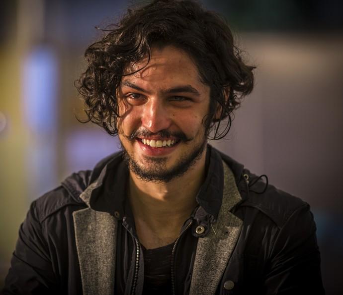 Miguel se emociona ao rever Tereza (Foto: Inácio Moraes/ Gshow)