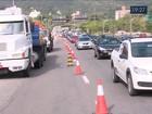 Obra em avenida em Florianópolis  atrasa candidatos para o Enem