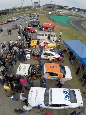 Shakedown da Old Stock Race, em Interlagos (Foto: Divulgação)