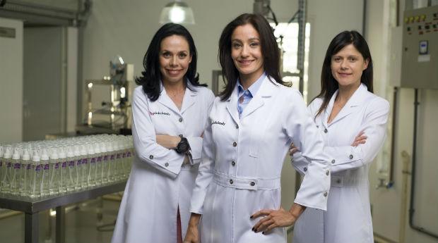 Da esquerda para a direita: Renata, Corina e Gisele, da Pink Cheeks (Foto: Divulgação/Pink Cheeks)