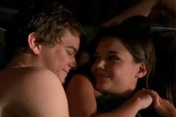 Katie Holmes e Joshua Jackson na série 'Dawson's Creek' (Foto: Reprodução)