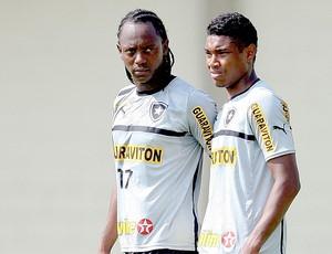 Andrezinho Vitinho treino Botafogo (Foto: Alexandre Cassiano / Ag. O Globo)