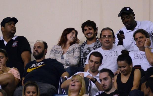 Pato e Barbara Berlusconi Corinthians (Foto: Alan Morici / Ag. Estado)