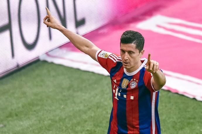 Lewandowski, Bayern de Munique x Hoffenheim (Foto: AFP)