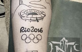 BLOG: Gabigol eterniza medalha de ouro na Olimpíada em tatuagens; veja fotos
