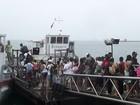 Mau tempo suspende travessia Mar Grande Salvador há quatro dias