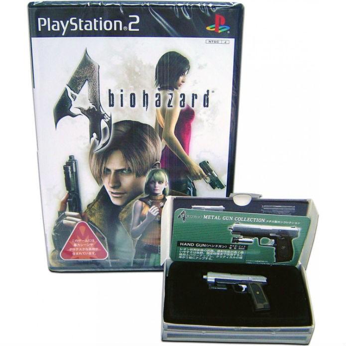 Edição especial de Resident Evil 4 acompanhava réplica da arma de Leon (Foto: Divulgação/Capcom)