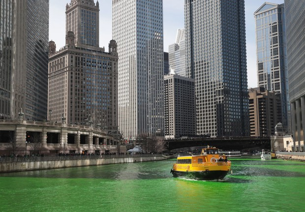 Chicago celebra o St Patricks Day (Foto: Getty Images)
