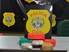 Polícia Civil apreende 5 quilos e droga e dupla consegue fugir no AC