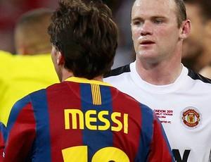 messi barcelona rooney manchester united final liga dos campeões (Foto: agência Reuters)