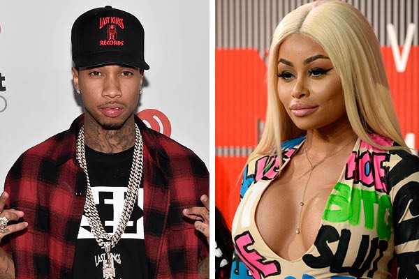Tyga e Blac Chyna (Foto: Getty Images)
