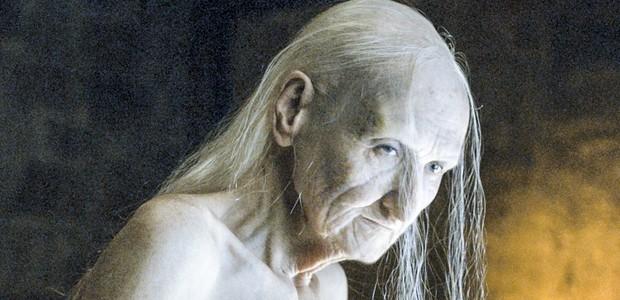 Melisandre sem feitiçaria: praticamente um smigol (Foto: Reprodução)