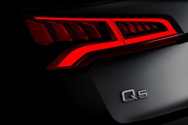 Audi mostra teaser da nova geração do Q5 (Foto: Divulgação)