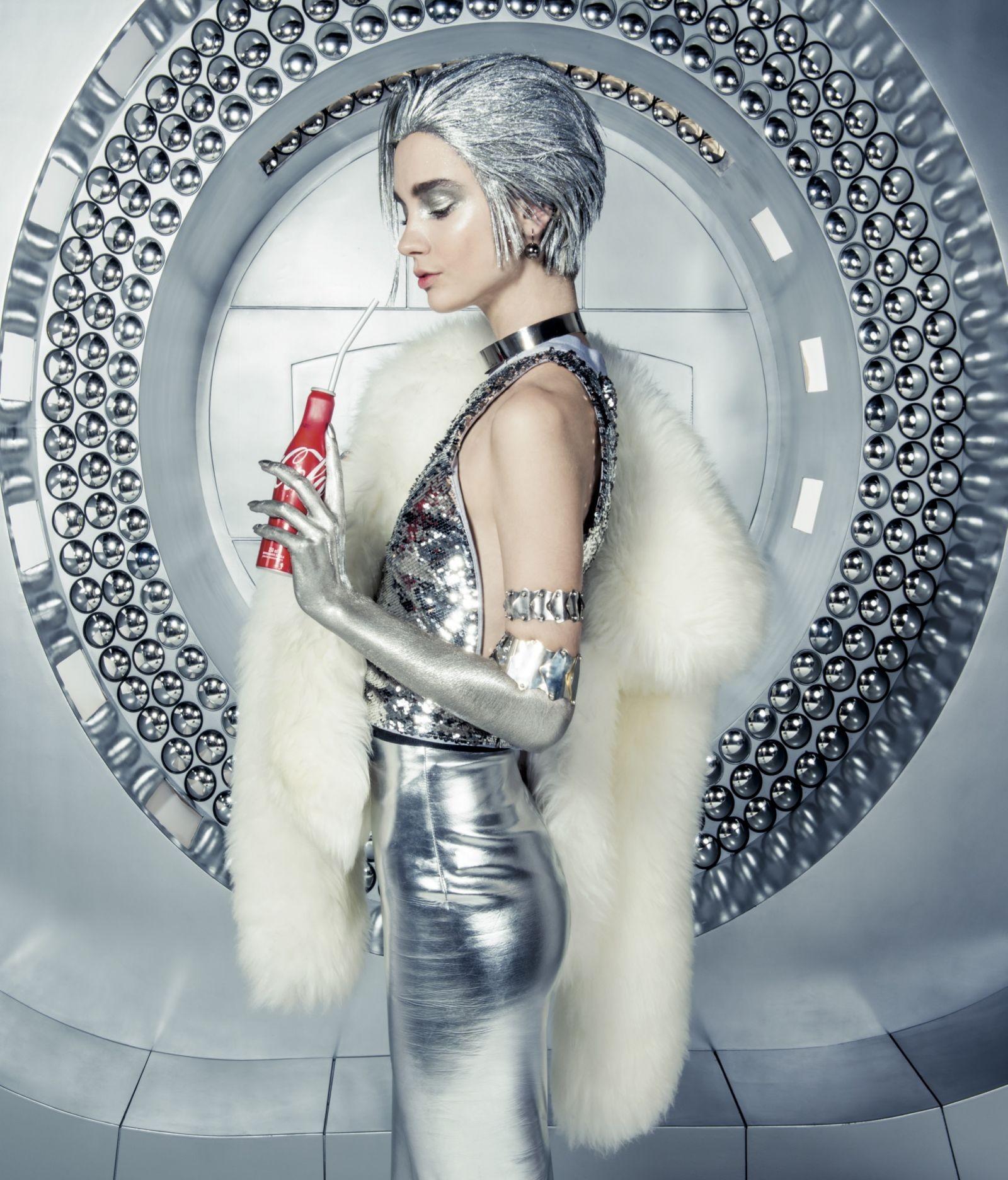 Promo Vogue - Cola-Cola (Foto: Jacques Dequeker)