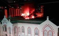 Incêndio dá prejuízo de ao menos R$ 1 milhão (Priscilla Silva Macedo/Arquivo Pessoal)