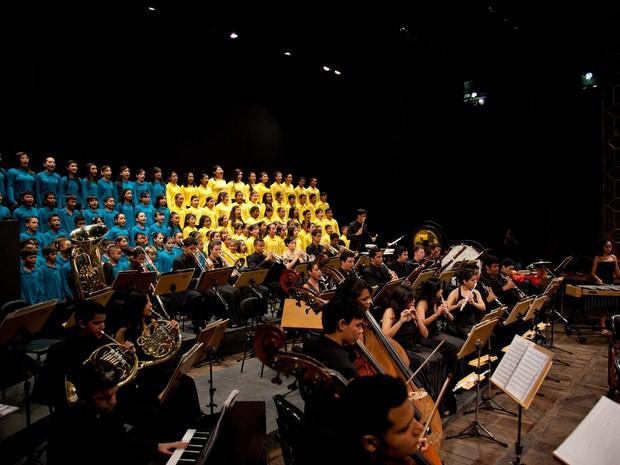 Orquestra Jovem Vale Música Belém (Foto: Divulgação)