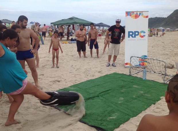 Galera aceitou o desafio e ganhou ingressos para shows que agitam o verão (Foto: Divulgação/ RPC) (Foto: Divulgação/ RPC)