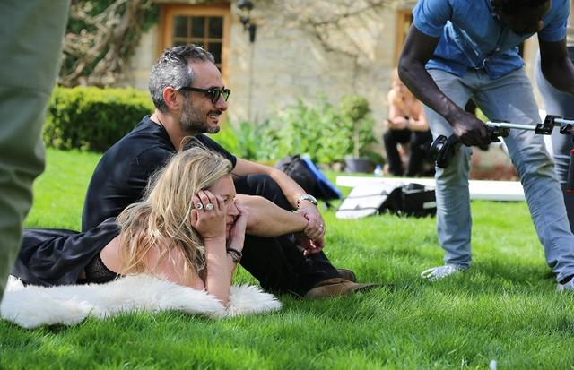 Kate Moss e Ara Vartanian (Foto: Divulgação)