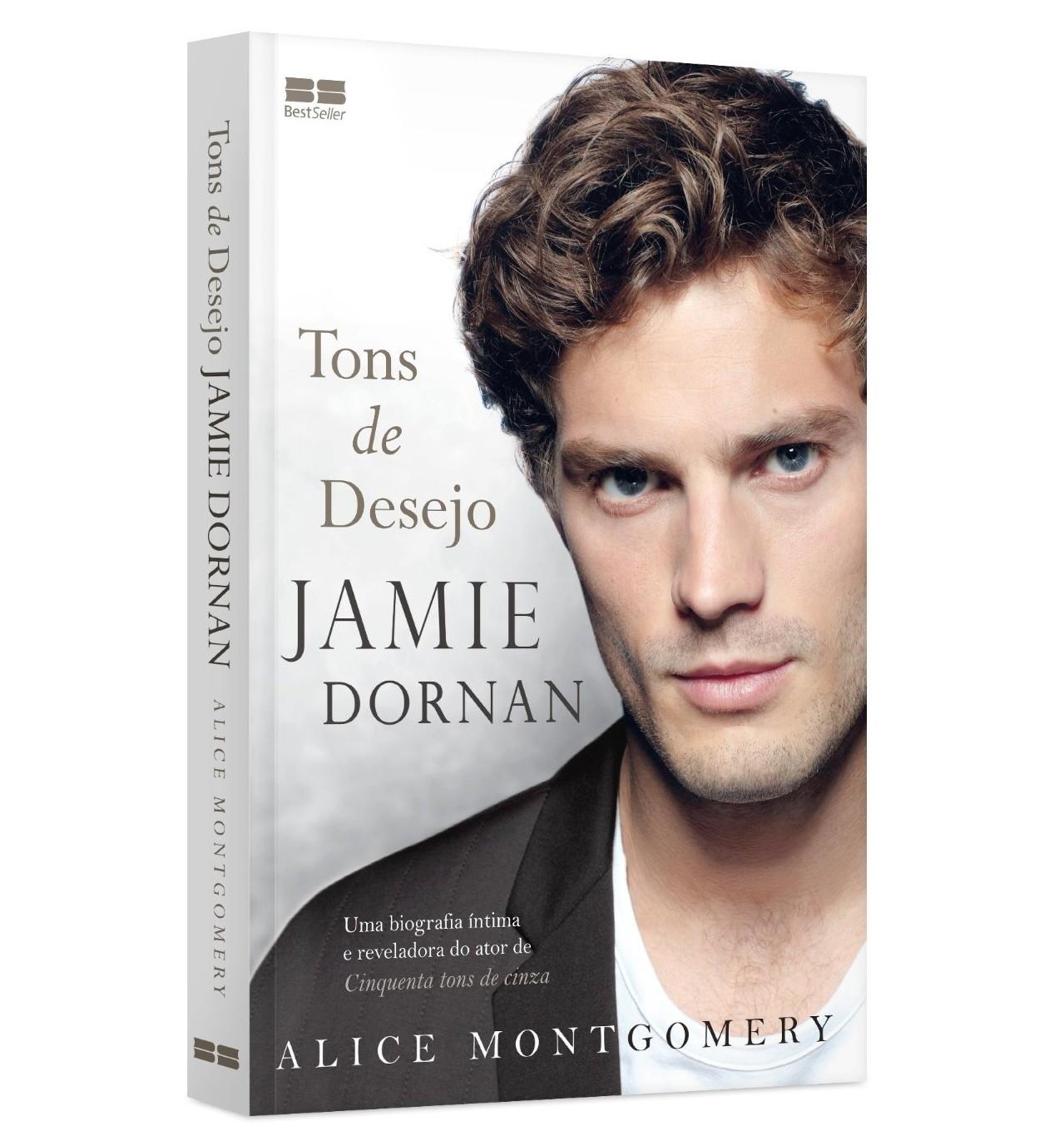 Jamie Dornan ganha biografia em livro, antes da estreia de
