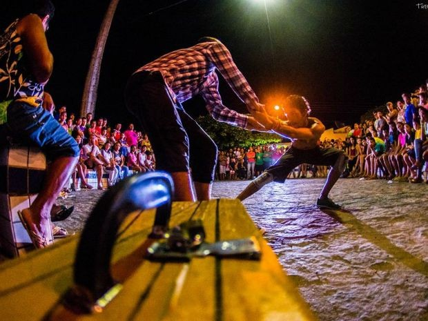 Espetáculo de rua Terreiro Envergado será encenado em Fortaleza (Foto: Thercles Silva)