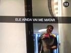 Preta Gil ganha surpresa do marido ao chegar em hotel de Abu Dhabi
