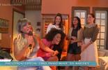 Carol Paixão invade os estúdios de 'Sol Nascente'
