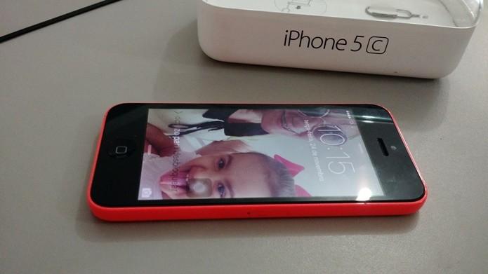 Veja se o iOS é original ou uma versão modificada do Android (Foto: Felipe Alencar/TechTudo)