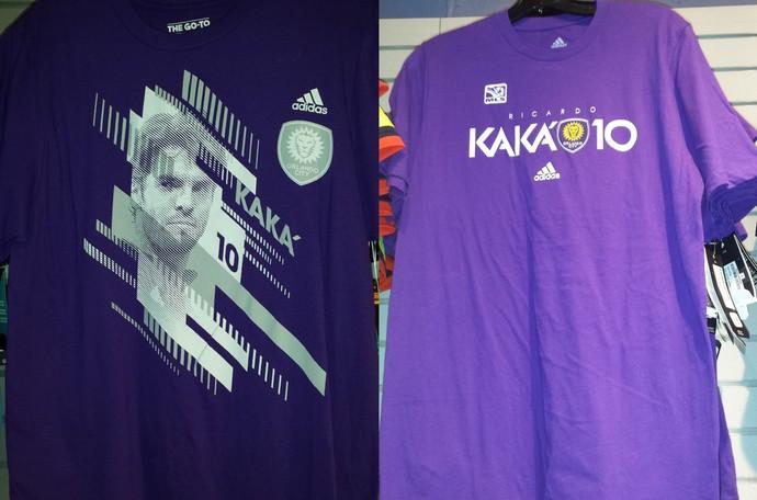 Grife Kaká  camisas do Orlando City já fazem sucesso no comércio local 614623d182264