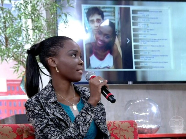 Maria das Dores sofreu racismo nas redes sociais (Foto: Encontro com Fátima Bernardes/TV Globo)