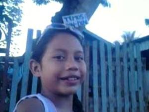 Grazielly dos Santos Costa morreu aos 9 anos (Foto: Arquivo pessoal)