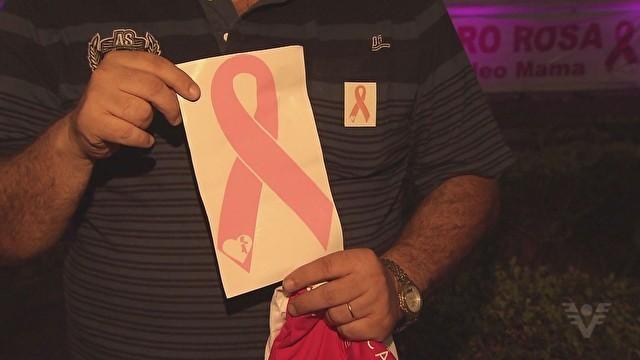 Símbolo que representa a prevenção do câncer de mama (Foto: divulgação)