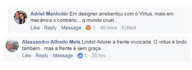 Comentários Fiat Cronos  (Foto: reprodução Facebook )
